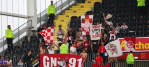 Supporters Nîmes Lens