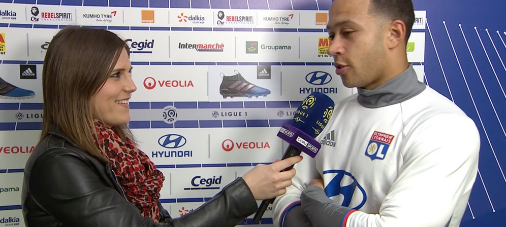 Margot Dumont Interview Memphis Depay