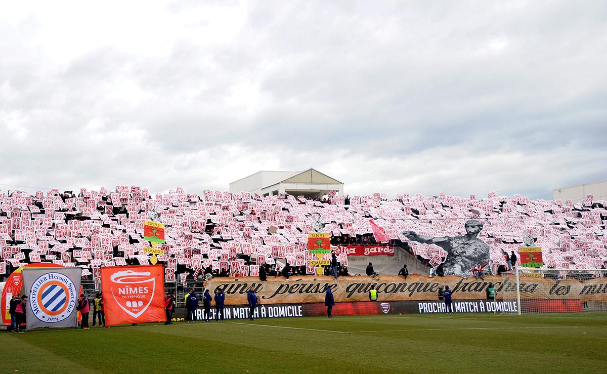 MTifo GN91 derby Nîmes-MHSC